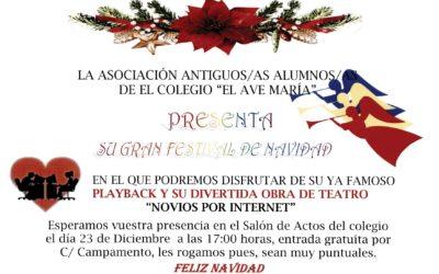 Festival de Navidad Antiguos/as Alumnos/as