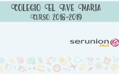 Boletín actividades comedor curso 2018-2019