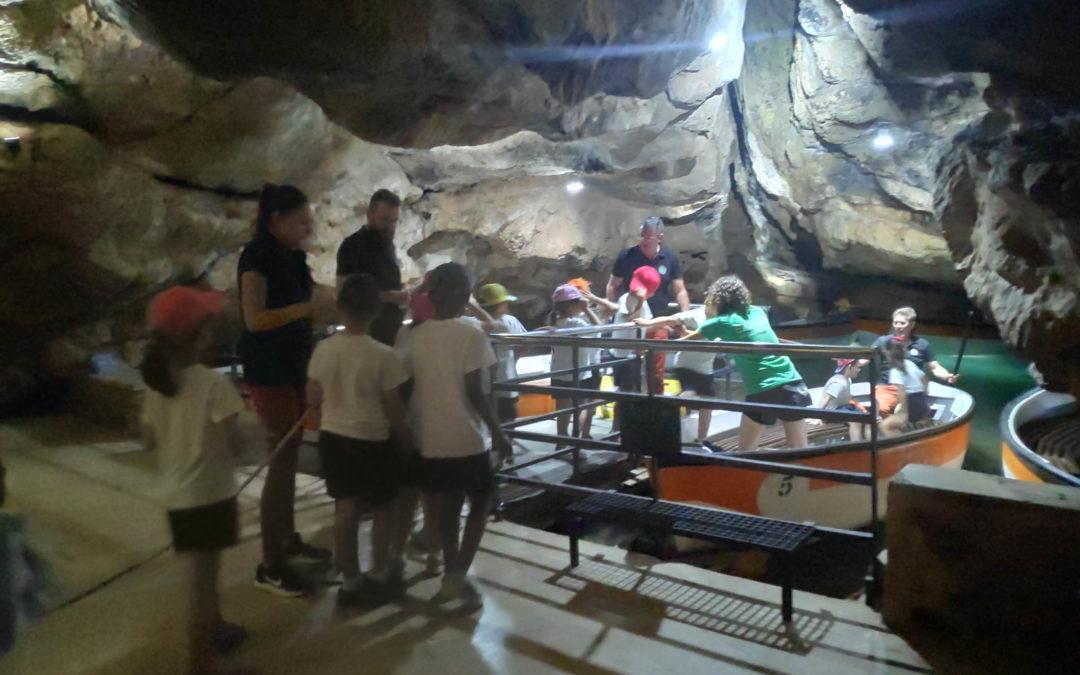 1º Y 2º de Primaria visitamos las Cuevas de S. José