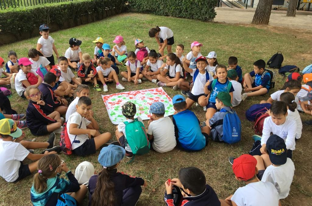 Convivencia de 1º y 2º en Riba-roja de Túria