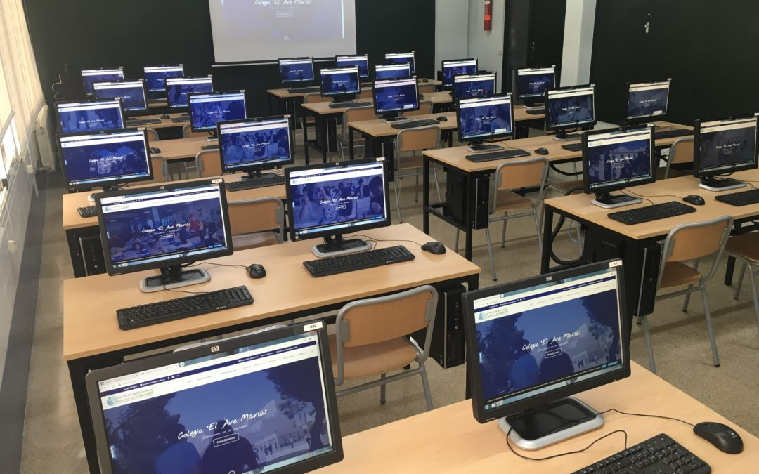 Nueva aula de informática ESO