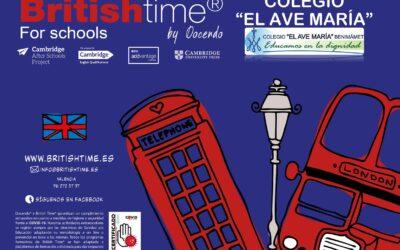 British Time. Actividad extraescolar para el curso 2020-2021.