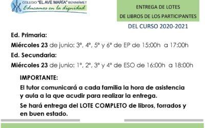 Banco de libros curso 2021-2022